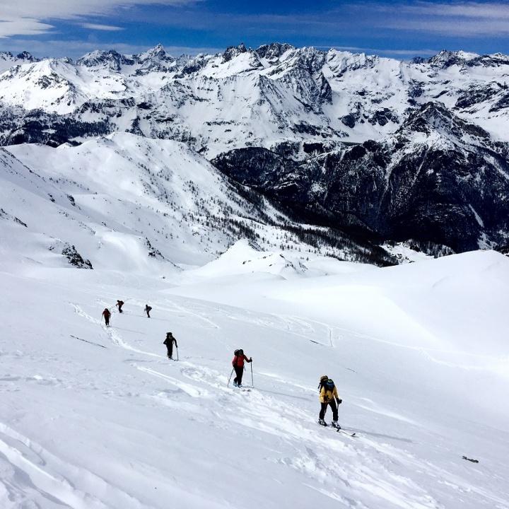 Corso di scialpinismo Guide Alpine Torino