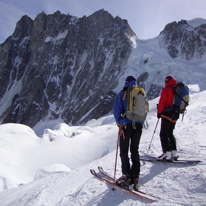 Tour delle Periades, Monte Bianco