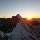 Tramonto sulla Dent D'Herens