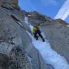 Goulotte sul Monte Bianco