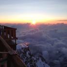 Rifugio sul Monte Rosa